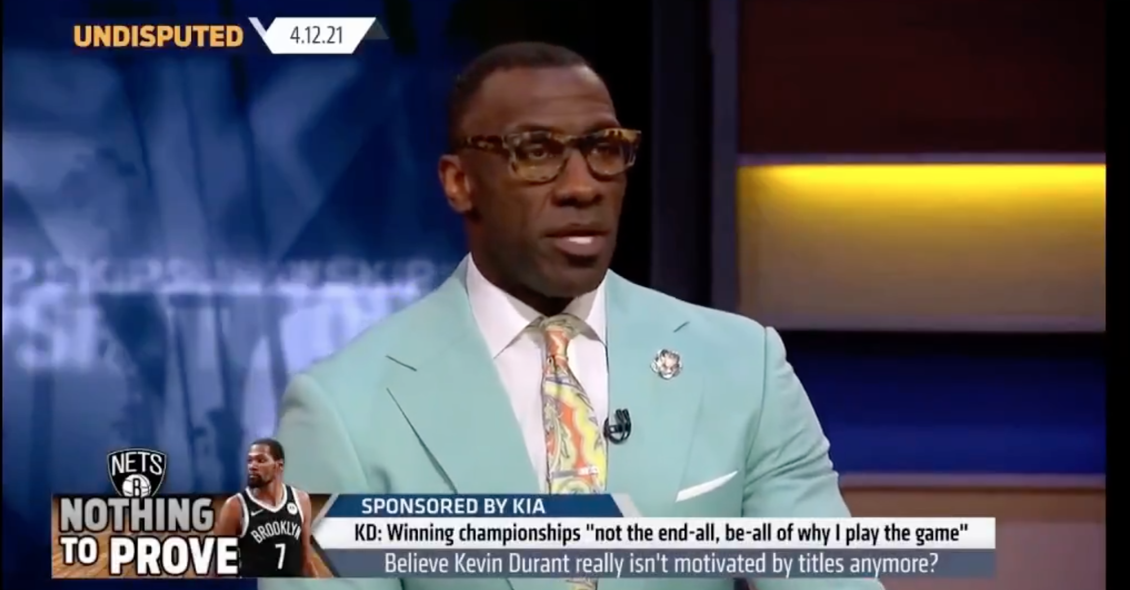Shannon Sharpe (@shannonsharpe) Is Getting BODIED Online By Kevin Durant (@KDTrey5)