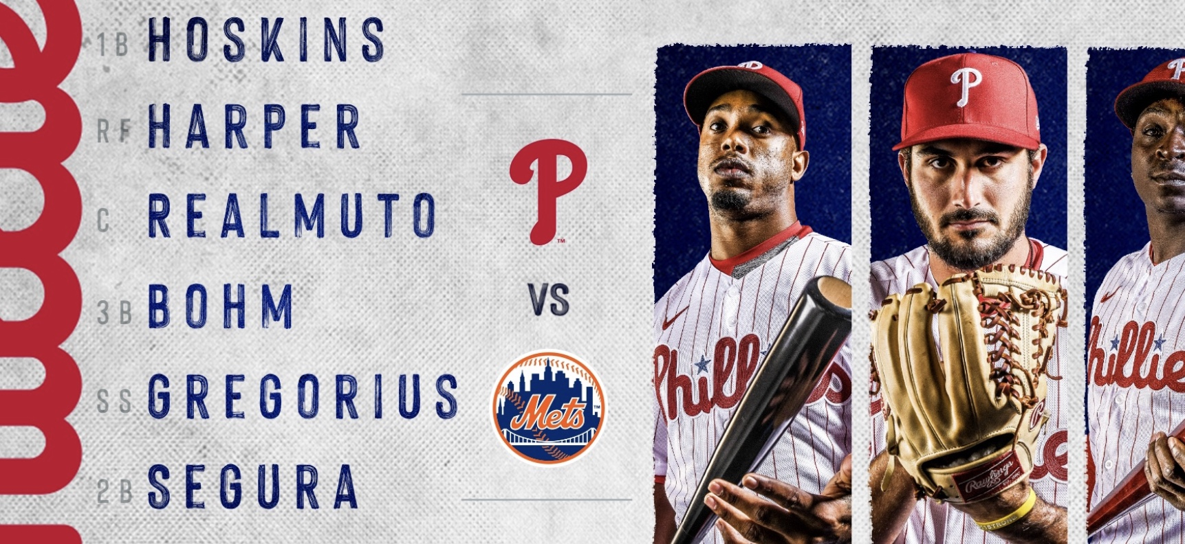 Look Who Is In The Starting Line Up For The Phillies Today…….