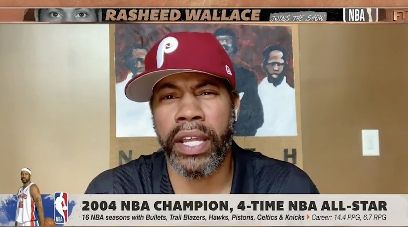 Who Does Philly's Own Rasheed Wallace Give The Edge To In The Eastern Conference? Nets or Sixers?
