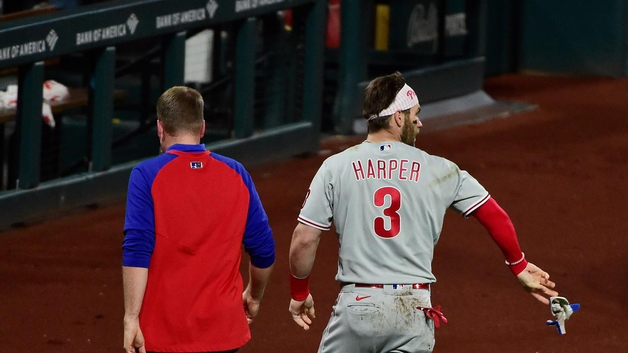 Bryce Harper Provides Update After Taking A 97 MPH Fastball To The Face