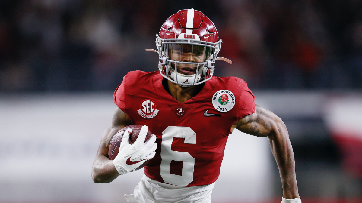 DeVonta Smith Would Love To Be An Eagle