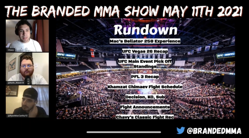 The Branded MMA Show Is Here!