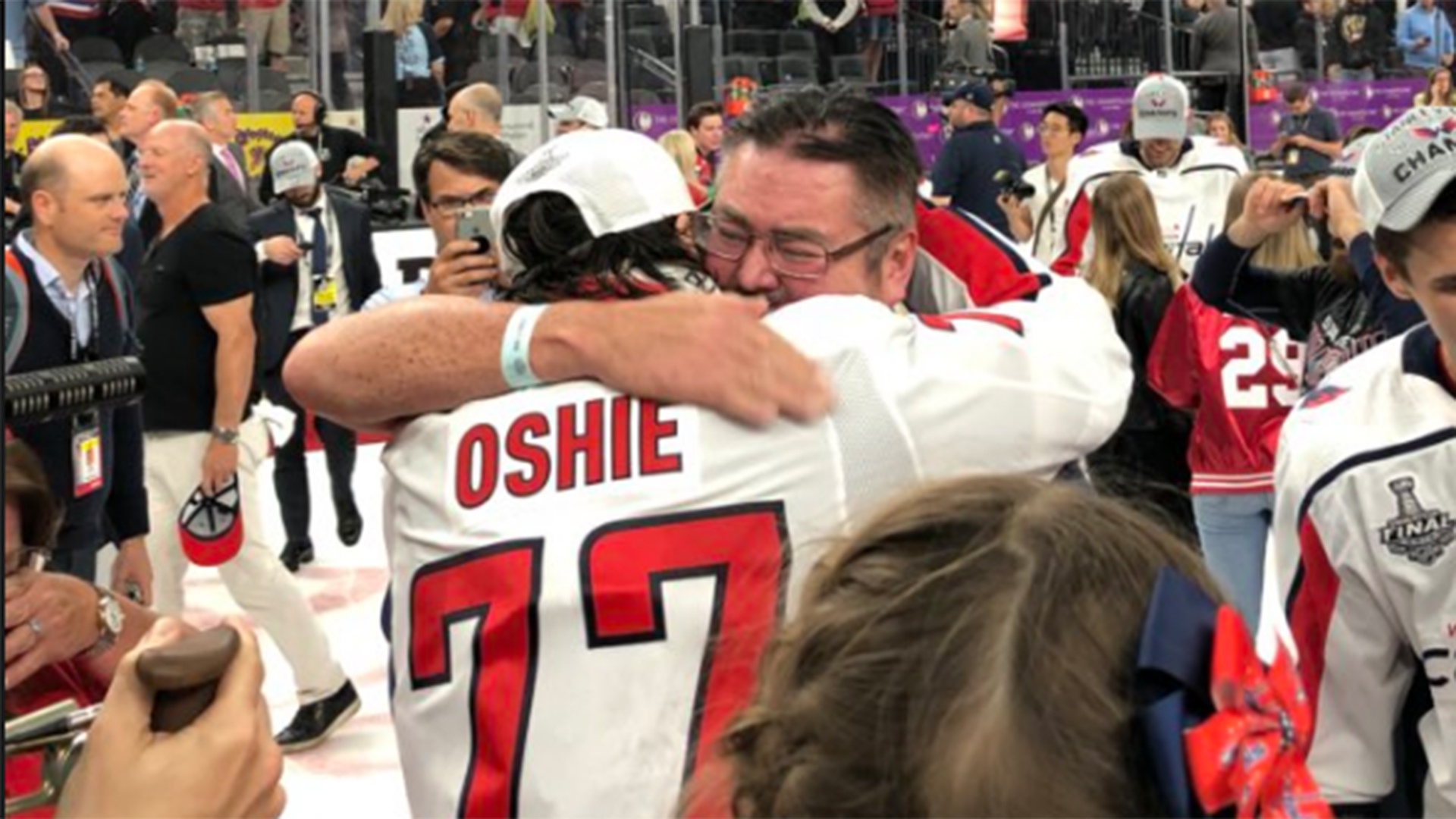 T.J. Oshie Honors His Father In The Best Way