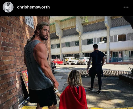 We Need To Talk About Chris Hemsworth's Instagram Post
