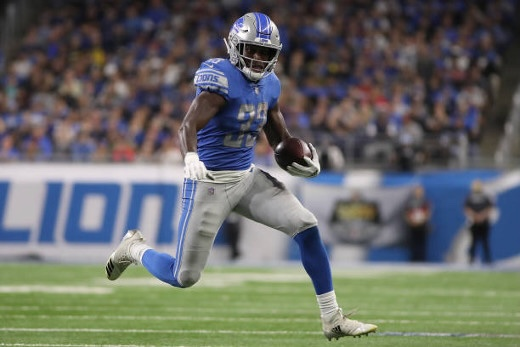 Eagles Claim RB Kerryon Johnson