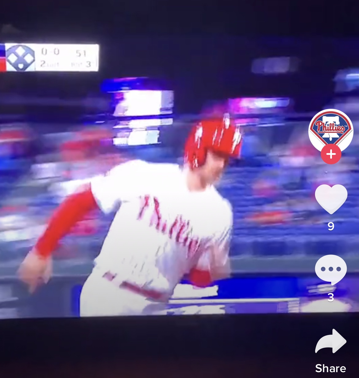 I'm Obsessed With Watching This Guy React To Phillies Home Run