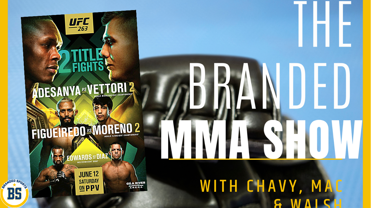 The Branded MMA Show #UFC263 Preview