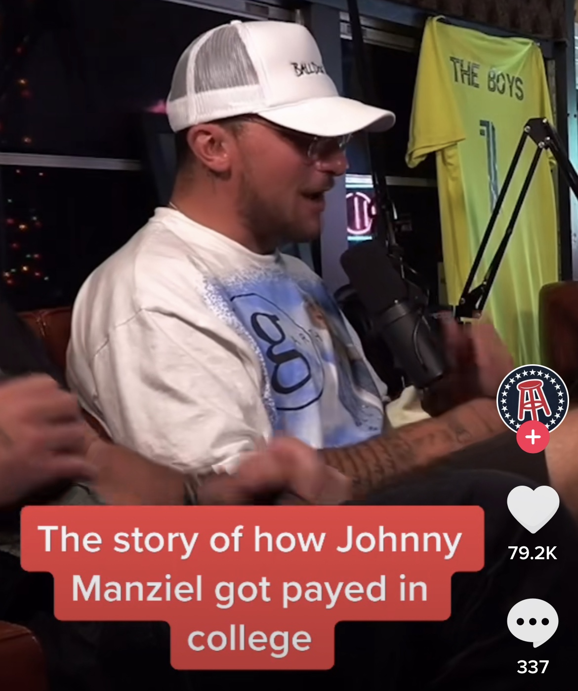 Johnny Manziel Explaining He Got Paid In College