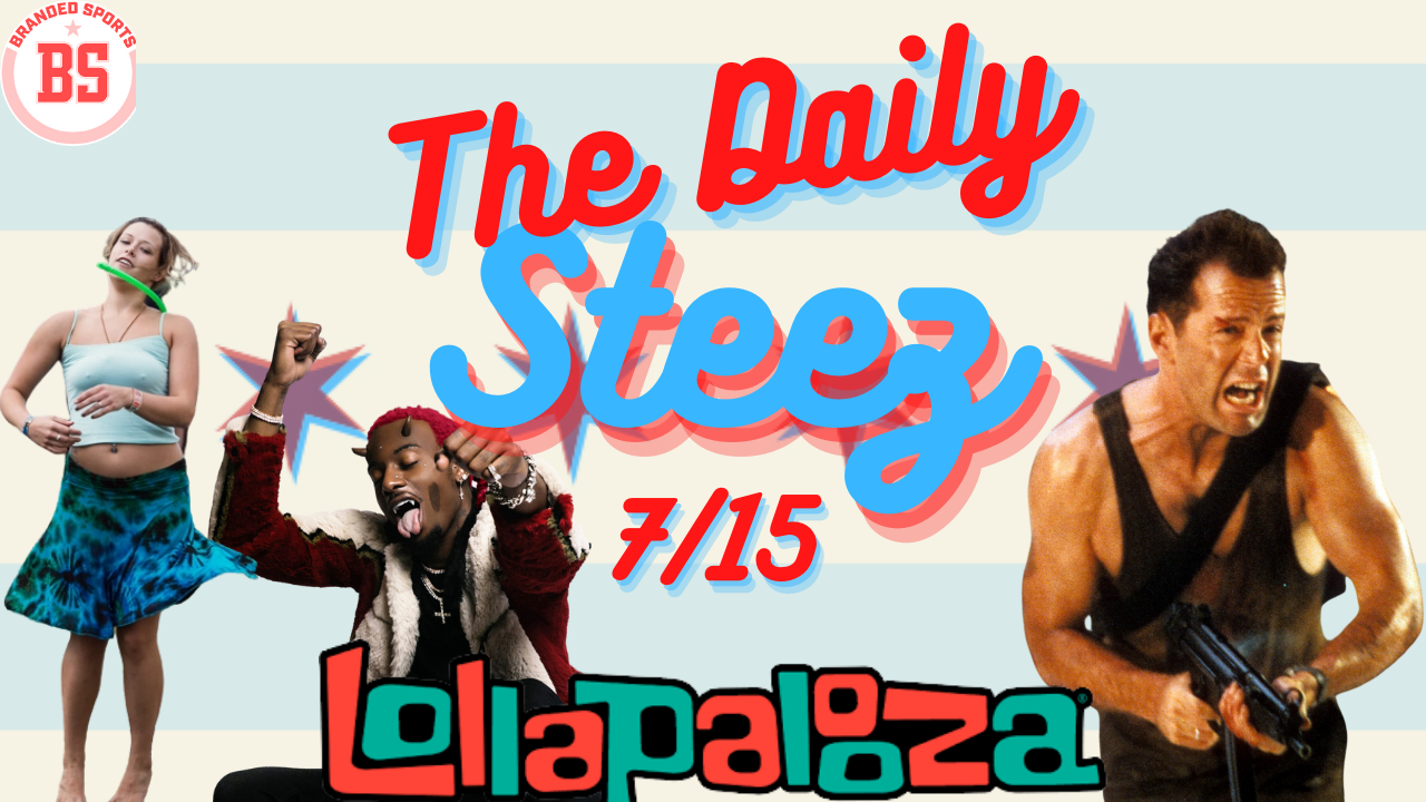 #TheDailySteez 7/15 – I'm Going to Lollapalooza..and I'm Scared