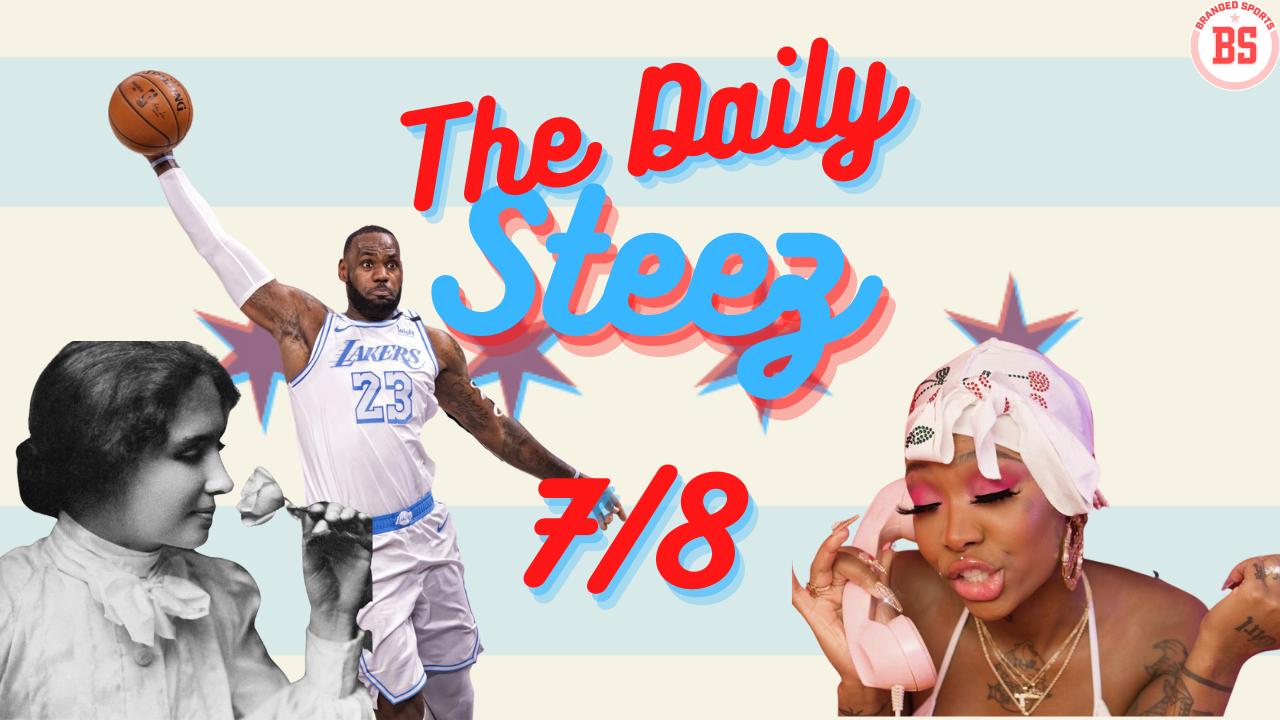 #TheDailySteez 7/8 – LeBron's Decision, Summer Walker, and Helen Keller