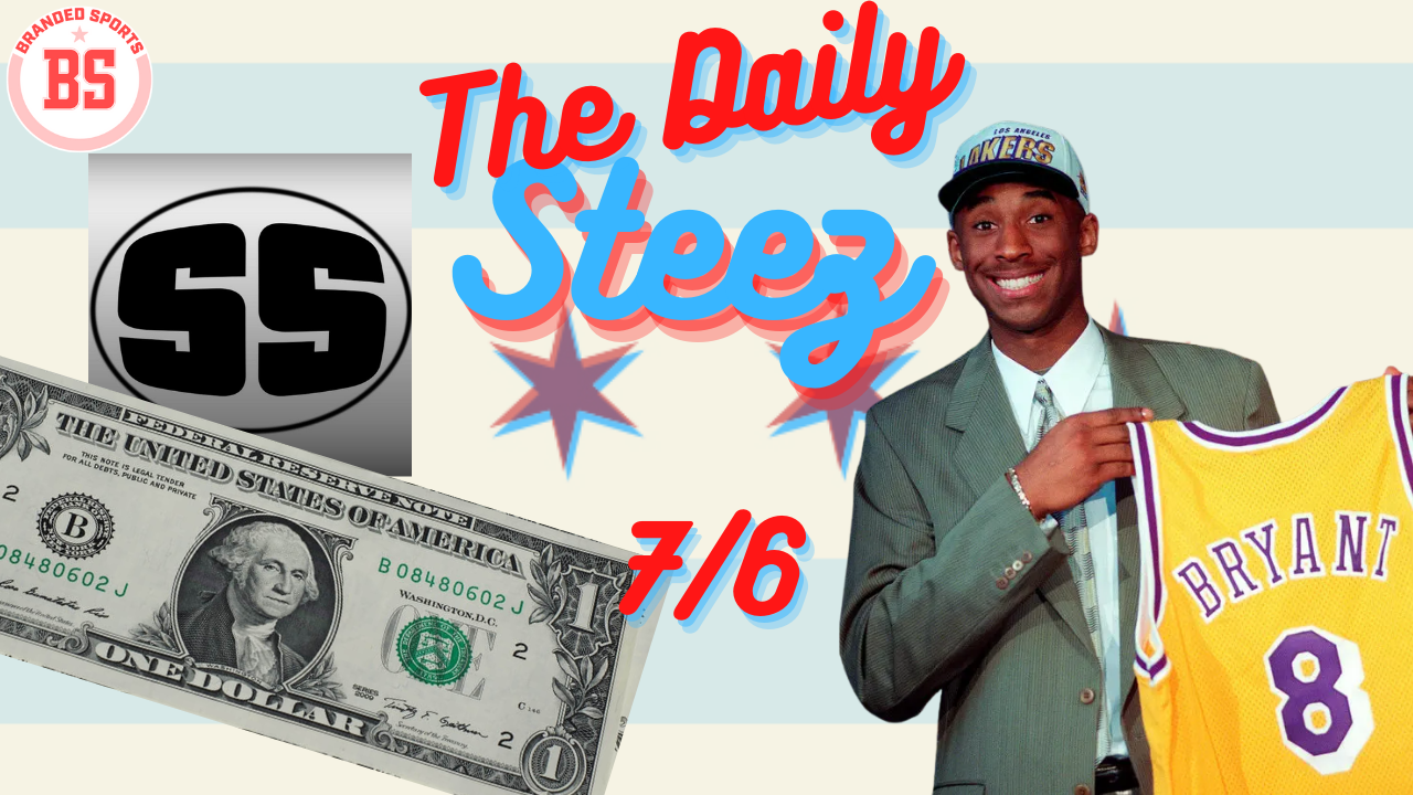 #TheDailySteez 7/6 – Smooth Sounds, Kobe, and the US Dollar Turns 236