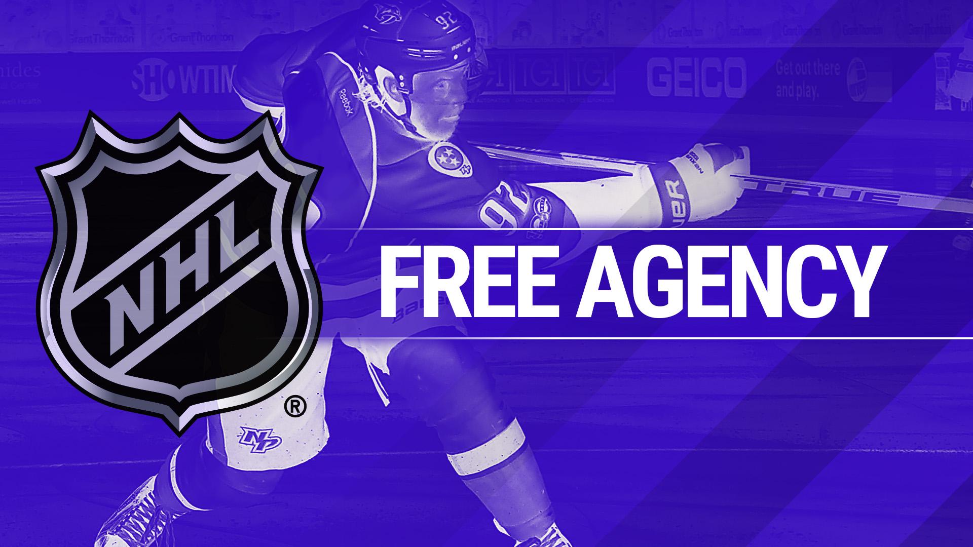 NHL Free Agency Tracker