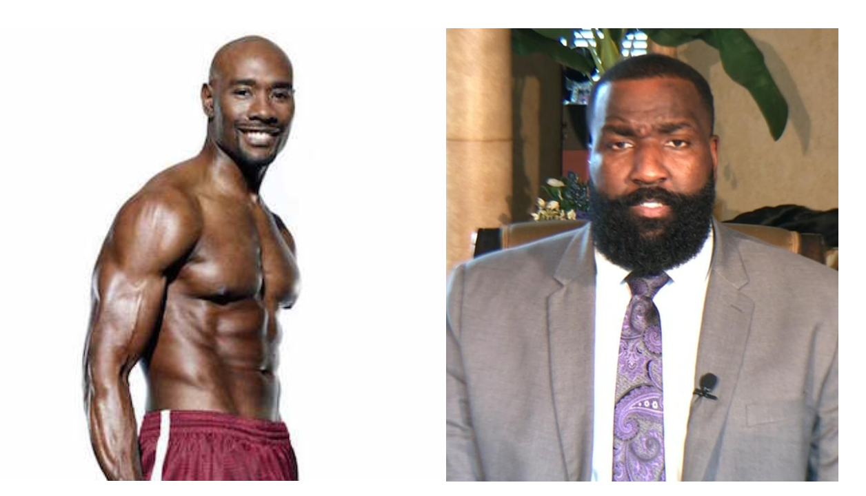 Kendrick Perkins Said People Are Jealous Because He Looks Like a 6'10 360 Pound Morris Chestnut With So Much Charisma In A 10 Minute Screaming Match With Jalen Rose On Get Up