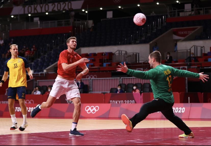 Olympic Handball Is Electric