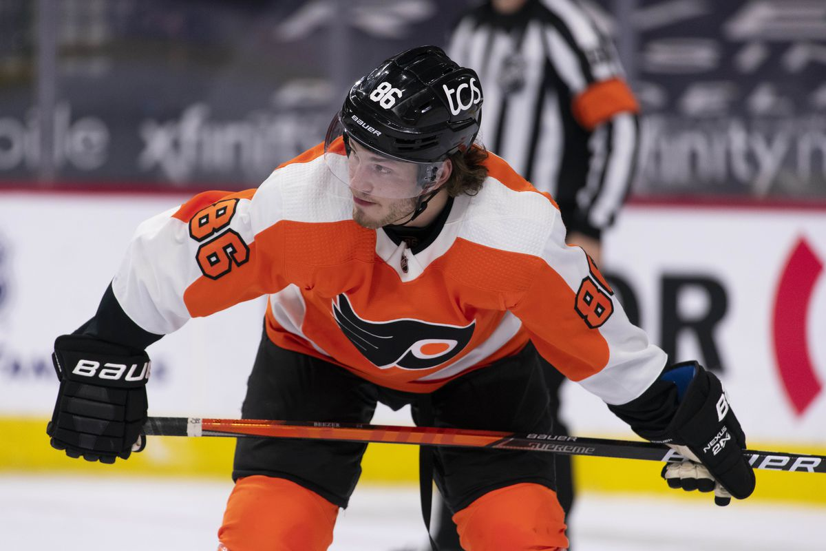 Flyers Lock Up Young Beezer