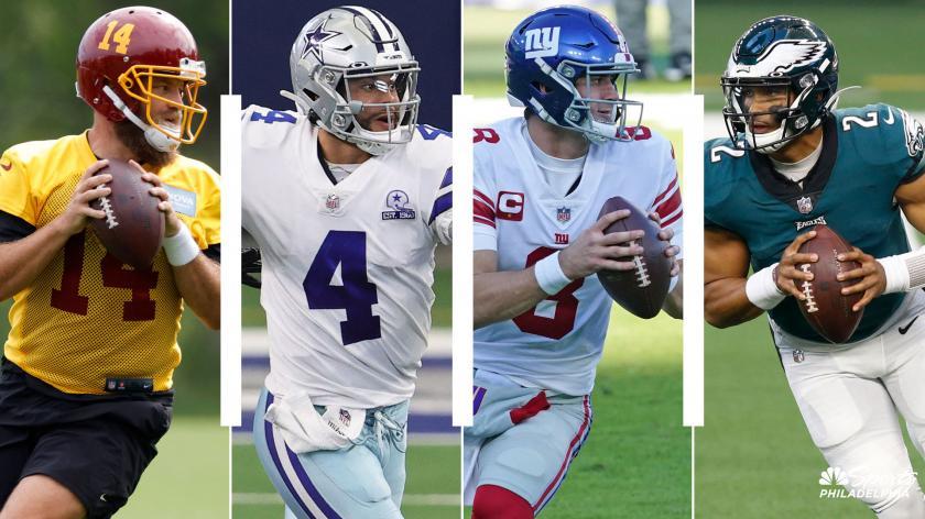 Ranking the NFC East: Quarterbacks