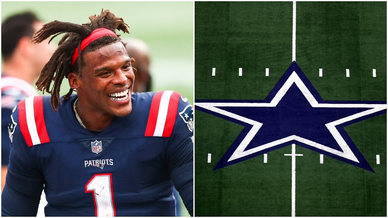 """Cam Newton To The Dallas Cowboys."" -Vegas"