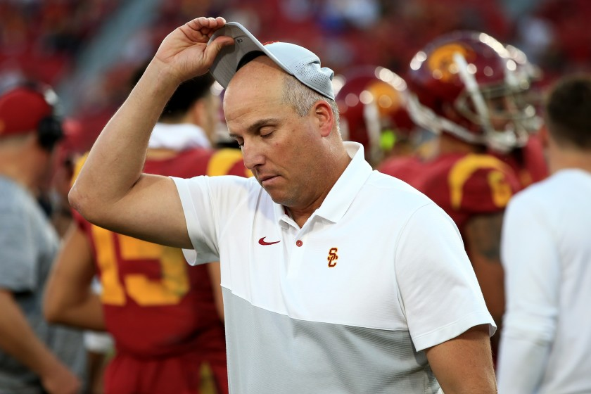 Clay Helton Has Been Fired At USC