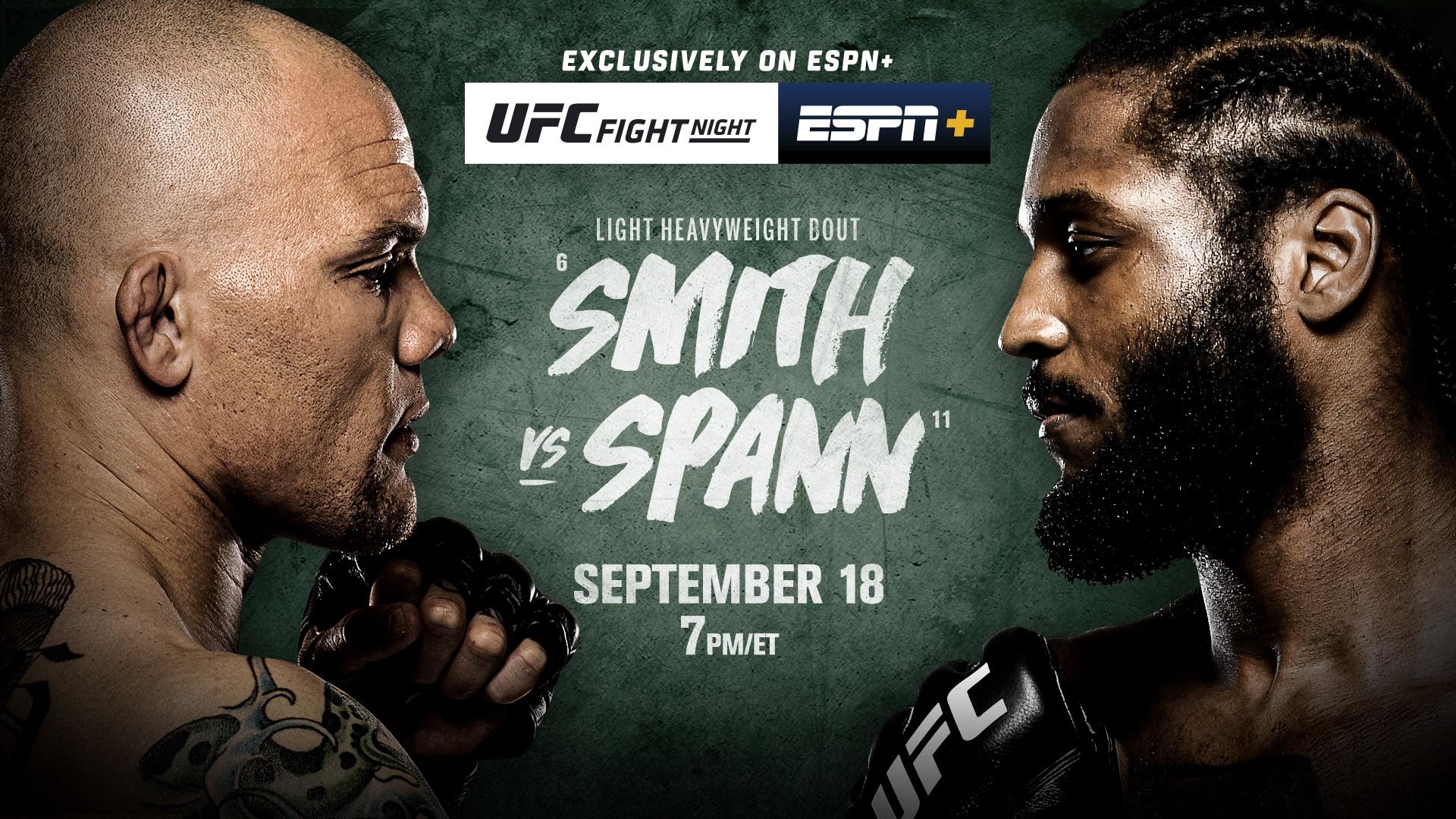 Breaking Down UFC Vegas 37: Smith vs Spann